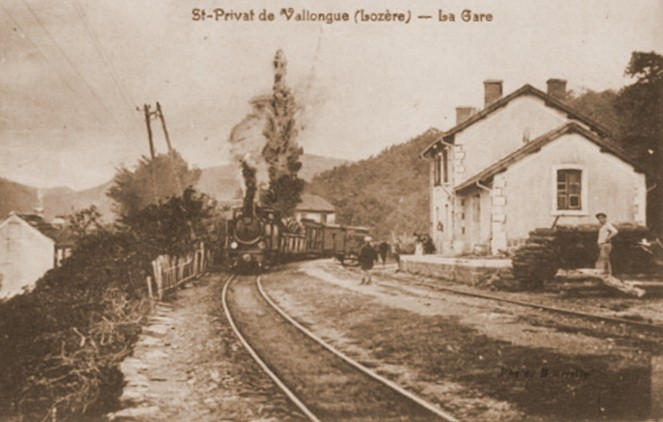 Gare de Saint-Privat-de-Vallongue