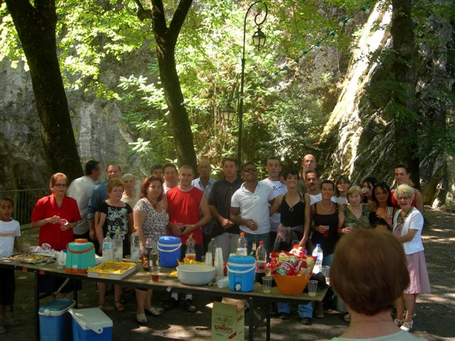 Photo de groupe anciens Moun Oustal 2008 St-Pons
